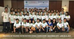 Cán bộ Viện Sức khỏe nghề nghiệp và môi trường tham dự lớp tập huấn giảng...