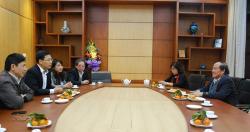 Chào đón PGS.TS. Nguyễn Huy Nga, nguyên Cục trưởng Cục QLMTYT, BYT làm...