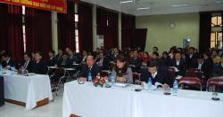 Chương trình hội thảo về hướng dẫn thực hiện công tác QL-ATVSLĐ, phòng chống...