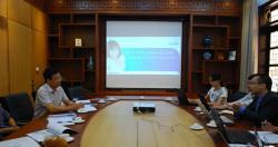 Làm việc với Công ty Karofi Việt Nam về chương trình tài trợ thiết bị lọc nước