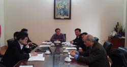 Viện SKNN & MT làm việc với trường Đại học Y Hà Nội về tăng cường hợp tác...