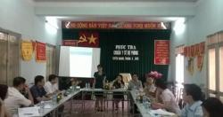 Giám sát tiến độ đạt Chuẩn quốc gia Y tế dự phòng tỉnh Hà Giang và Tuyên...