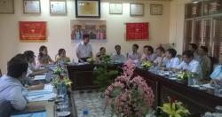 Giám sát tiến độ đạt Chuẩn quốc gia Y tế dự phòng tỉnh Hải Dương và Hải...