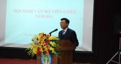 Hội nghị cán bộ, viên chức năm 2015 - Viện Sức khỏe nghề nghiệp và môi trường.