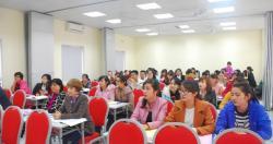 Khai giảng lớp huấn luyện Y tế lao động  Khóa học tháng 03 năm 2017
