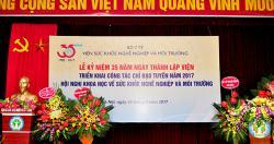 Lễ kỷ niệm 35 năm ngày thành lập Viện, triển khai công tác chỉ đạo tuyến năm...