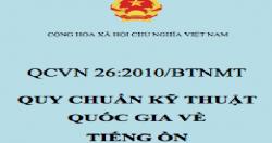 Quy chuẩn kỹ thuật Quốc gia về tiến ồn (QCVN 26:2010/BTNMT)