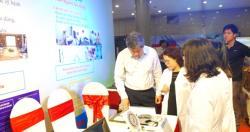 Khoa Tâm sinh lý Ecgônômi tham gia trưng bày gian hàng thiết bị thực hiện...