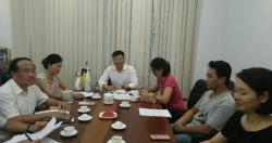 Viện Sức khỏe nghề nghiệp và môi trường mở Chiến dịch hỗ trợ phường Vĩnh Tuy...