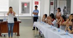 Hoạt động khảo sát điều kiện lao động và Tập huấn chăm sóc mắt cho trưởng...