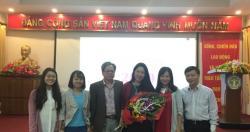 Lễ kỷ niệm chúc mừng cán bộ nhân viên nữ Viện nhân ngày Phụ nữ Việt Nam...