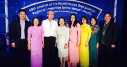 Việt Nam tham dự Kỳ họp 68 của WHO khu vực Tây Thái Bình Dương