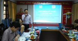 Họp nhóm kỹ thuật góp ý dự thảo Hướng dẫn kiểm soát chất lượng nước RO dùng...