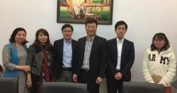 Lãnh đạo Viện tiếp đoàn công ty RION Nhật Bản về hợp tác triển khai các hoạt...