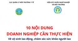 10 VIỆC PHẢI LÀM ĐỐI VỚI DOANH NGHIỆP