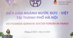 Diễn đàn ngành nước Đức - Việt tại Hà Nội