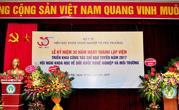 Lễ kỷ niệm 35 năm ngày thành lập Viện (24/04/1982 -24/04/2017), Triển khai công tác chỉ đạo...