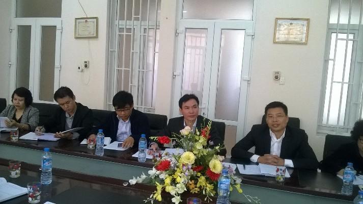Hợp tác chuyên môn, kỹ thuật và phát triển dịch vụ chuyên ngành giữa Viện SKNN&MT và Trung tâm YTDP tỉnh Thái Nguyên 10/12/2016