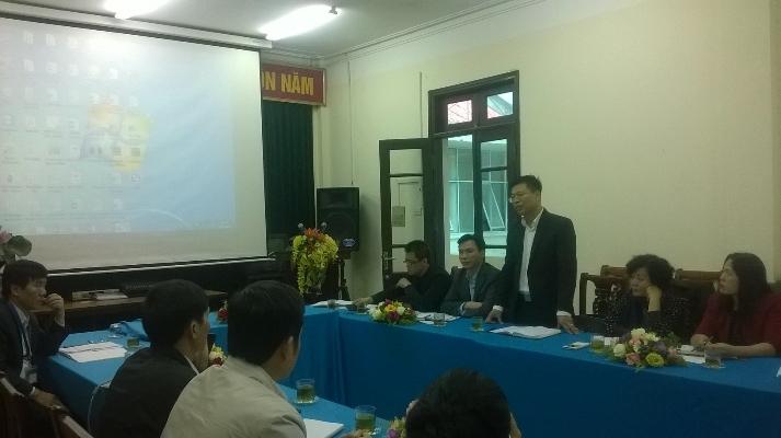 Tăng cường hợp tác chuyên môn, kỹ thuật và phát triển dịch vụ chuyên ngành giữa Viện SKNN&MT và Trung tâm YTDP tỉnh Bắc Ninh 28/11/2016