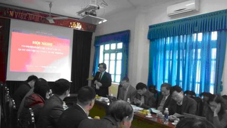 Thẩm định kết quả đạt Chuẩn quốc gia Y tế dự phòng tỉnh Bắc Kạn và Cao Bằng (15-16/12/2015)