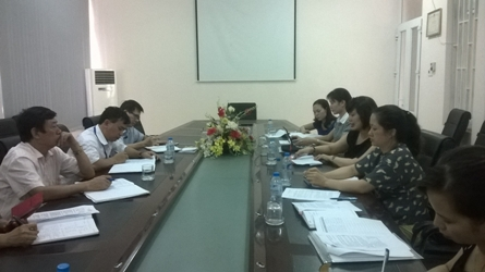 Hỗ trợ chuyên môn và đánh giá năng lực xét nghiệm  tại Trung tâm Y tế dự phòng tỉnh Thái Nguyên (23/05/2017)