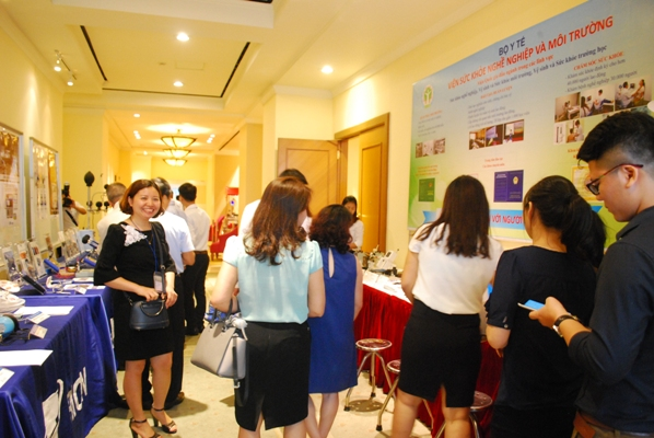 Hội thảo Ảnh hưởng của tiếng ồn đến sức khỏe và biện pháp dự phòng do Viện Sức khỏe nghề nghiệp và môi trường phối hợp với Công ty RION đồng tổ chức.