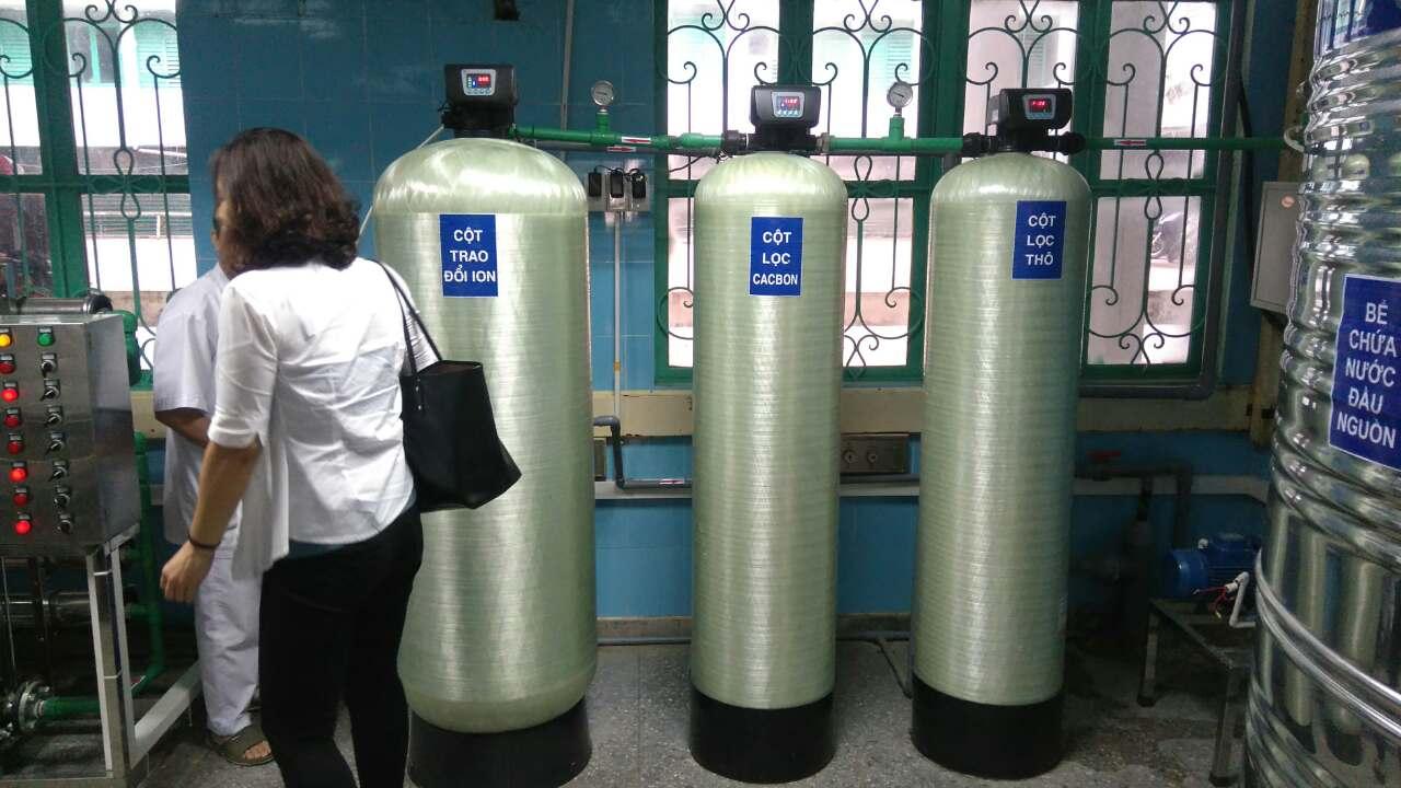 Thay đổi trong quản lý hệ thống xử lý nước RO dùng cho điều trị thận nhân tạo tại 02 bệnh viện...