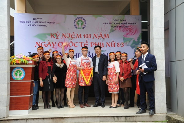 Kỷ niệm 108 năm ngày Quốc tế Phụ nữ 8/3 và Hội thi nấu ăn lần thứ nhất.