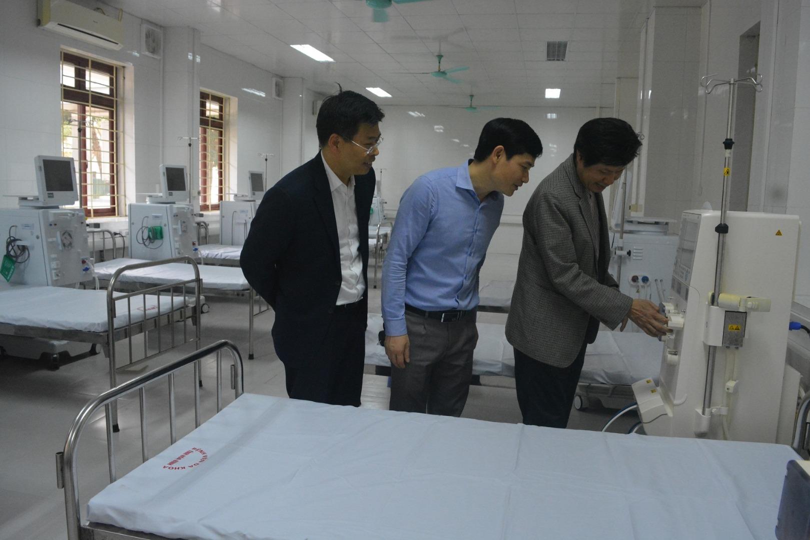 Đơn nguyên Thận nhân tạo đáp ứng tốt nhu cầu điều trị của bệnh nhân lọc máu sau 05 ngày tái hoạt...