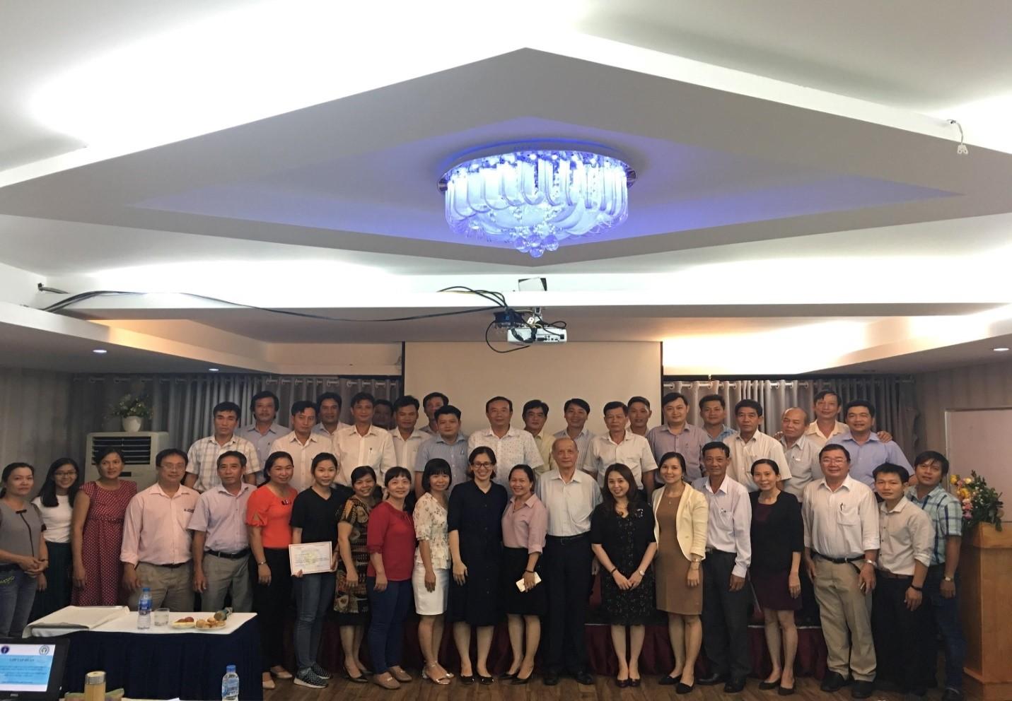 Lớp tập huấn  Hướng dẫn thực hiện và xây dựng quy chuẩn địa phương theo thông tư 41/2018/TT-BYT...