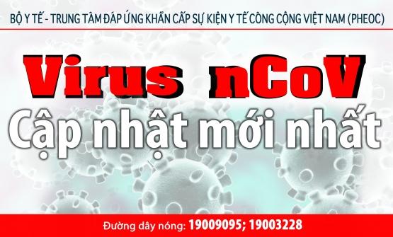 CẬP NHẬT TÌNH HÌNH COVID-19 LÚC 08 Giờ 00, ngày 21/02/2020