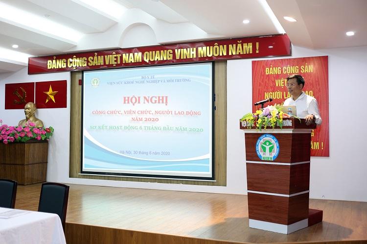 Hội nghị Hội nghị công chức, viên chức, người lao động - Sơ kết 6 tháng đầu năm 2020.