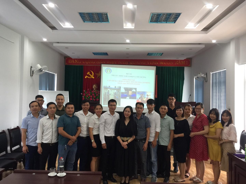 """Viện Sức khỏe nghề nghiệp và môi trường tổ chức lớp đào tạo cấp chứng chỉ """" Quan trắc môi trường lao động"""" tại Sơn La từ ngày 20/08-24/08/2020"""
